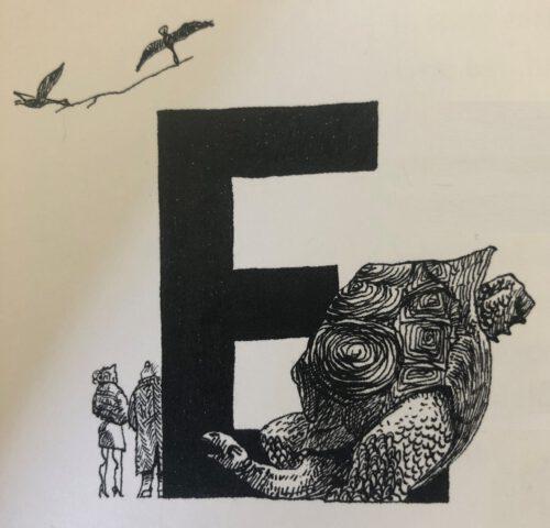 Fabel 'de schildpad en de twee eenden'