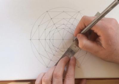Hexagon met Spiraal